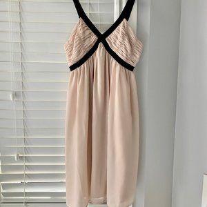 H&M Flowy Beige Dress